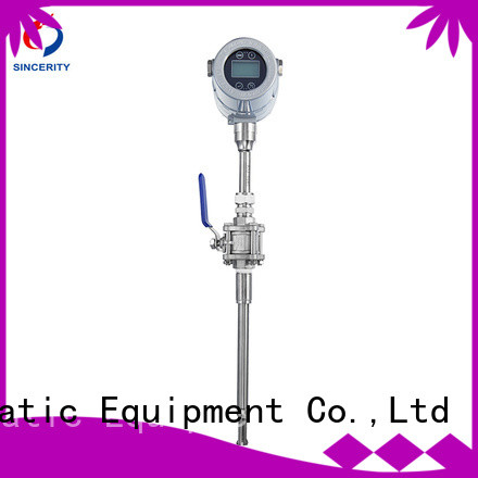 best thermal mass flow meter supplier for gas measurement