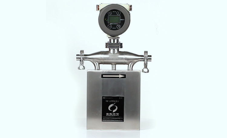 Sincerity U shape coriolis mass flow meters with flange connection
