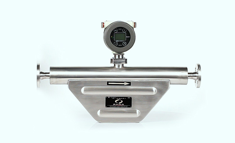 V shape coriolis mass flow meter