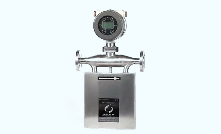 U shape coriolis mass flow meter