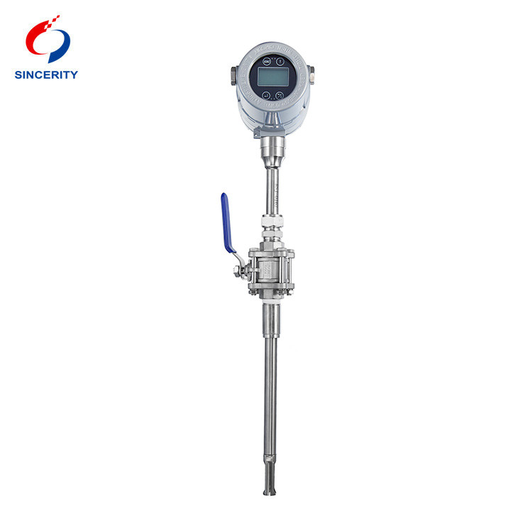 High quality thermal gas flow meter