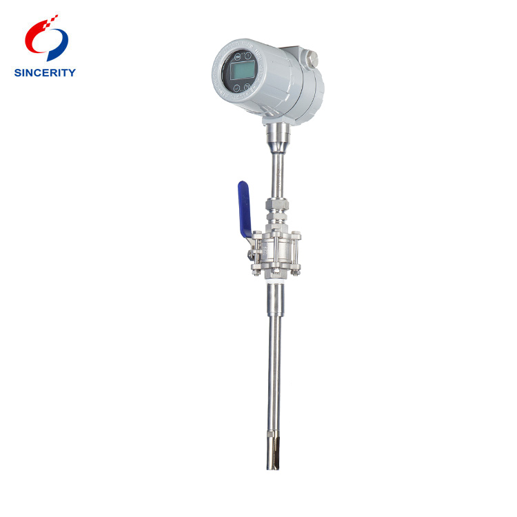 Sincerity High measuring accuracy high quality thermal flow meter function for the volume flow-2