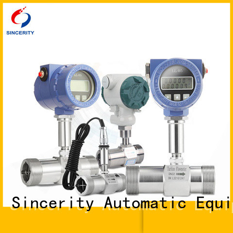 Sincerity turbine flow meter sensor supplier for density measurement