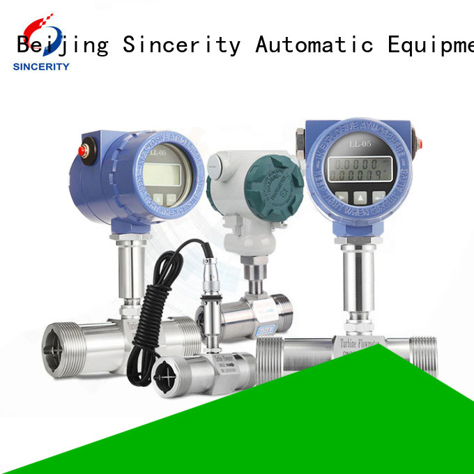 Sincerity turbine flow meter price for sale for temperature measurement