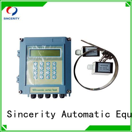 Sincerity custom clamp on ultrasonic flow meter manufacturers price for Energy Saving