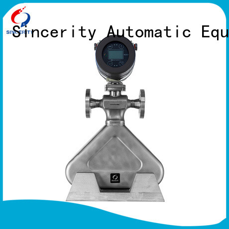 Sincerity low cost coriolis flow transmitter function for chemicals