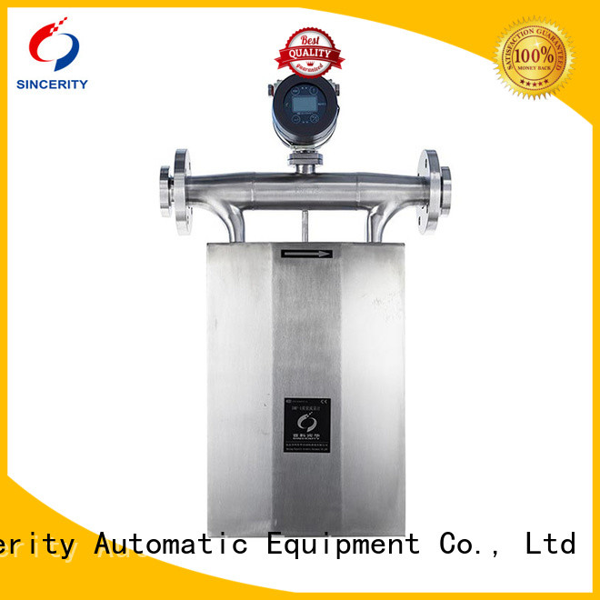 Sincerity micro motion coriolis mass flow meter price for chemicals