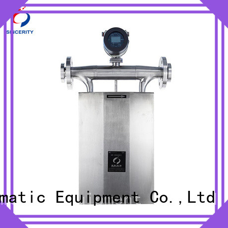 Sincerity high accuracy coriolis type flow meter price for oil and gas