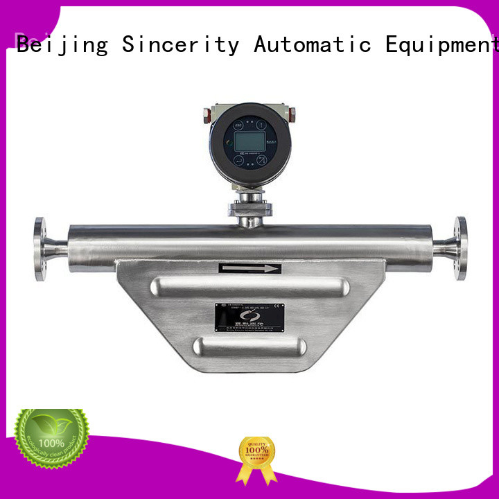 Sincerity high reliability coriolis flow transmitter supplier for chemicals