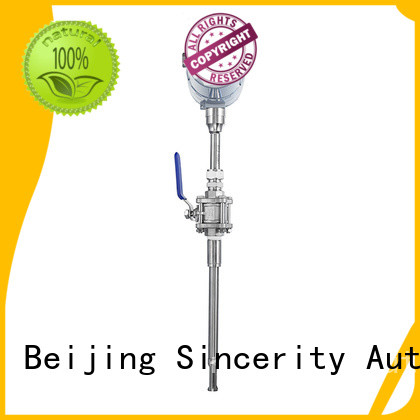 Sincerity High measuring accuracy thermal flow meter for sale for gas measurement
