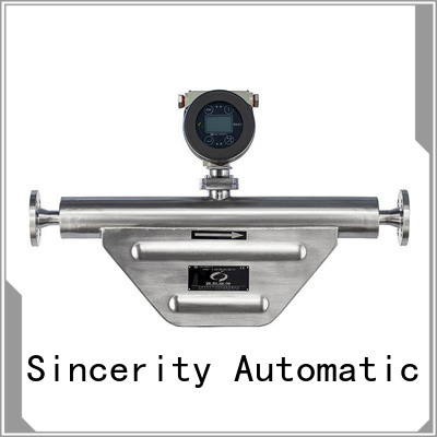 Sincerity high performance micro motion mass flow meter manufacturer for food