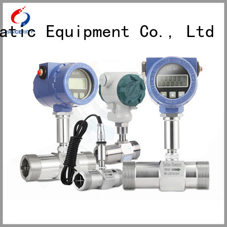 Sincerity insertion type turbine flow meter supplier for density measurement