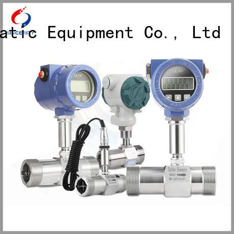 Sincerity high performance inline turbine flow meter for sale for density measurement