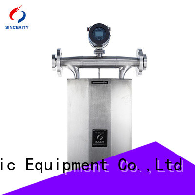 Sincerity High measuring accuracy micro motion coriolis function for fluids measuring
