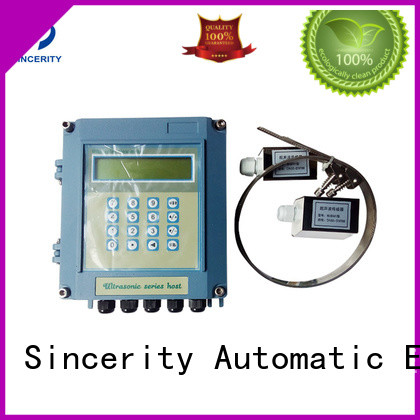 Sincerity High measuring accuracy clamp on ultrasonic water flow meter for Generate Electricity