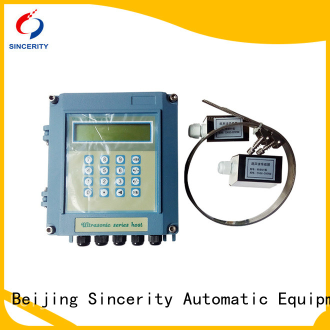 Sincerity clamp on ultrasonic flow meter manufacturers for Heating