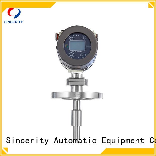 Sincerity tuning fork beer density meter manufacturer for temperature measurement
