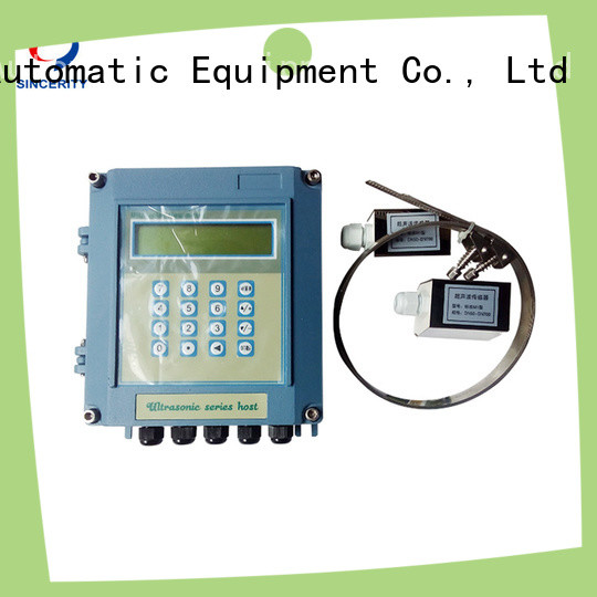 Sincerity portable clamp on ultrasonic water flow meter price for Metallurgy