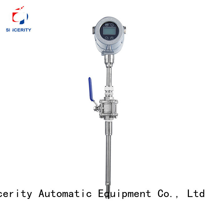 Sincerity high quality insertion thermal mass flow meter manufacturer for the mass flow