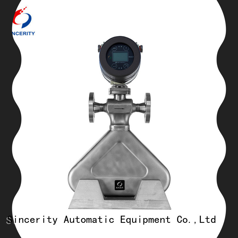 Sincerity low cost coriolis meter supplier for oil and gas
