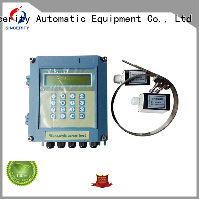 Sincerity portable ultrasonic flow meter manufacturer for Generate Electricity