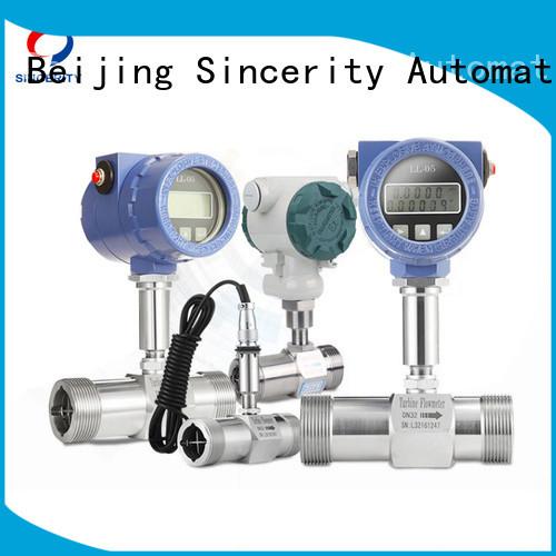 high accuracy inline turbine flow meter price for temperature measurement