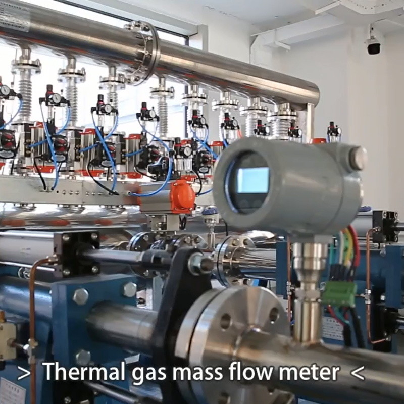 The thermal Gas Mass Flow Meter Suitable for all industrial and test rig applications,with impressicely high accuracy  short response time.