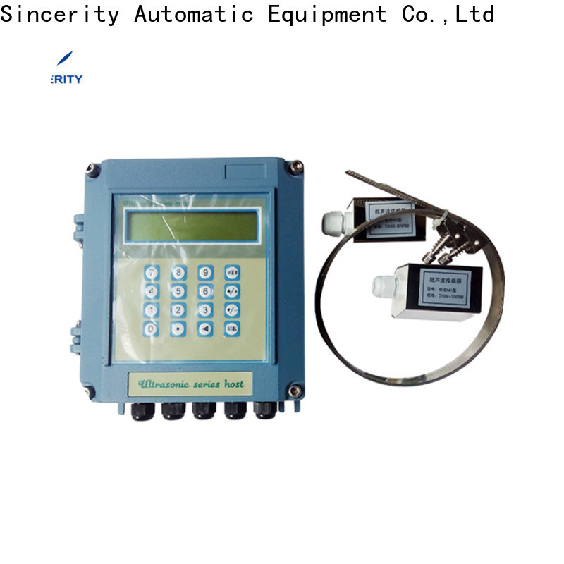 high accuracy portable ultrasonic flow meter manufacturers for Metallurgy