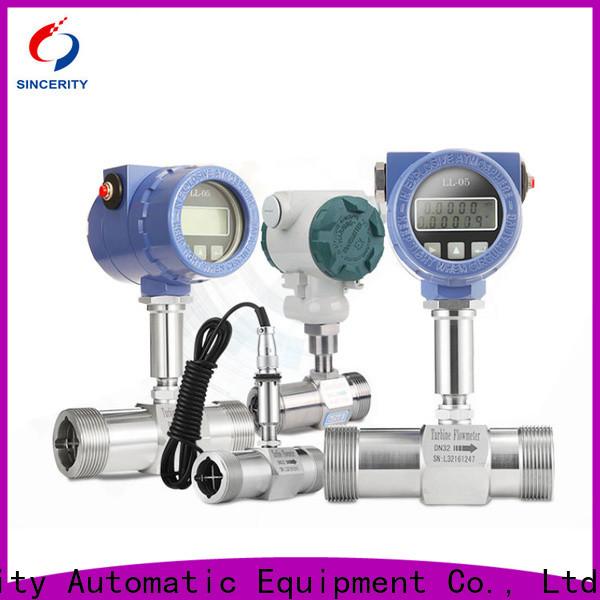 high performance natural gas turbine flow meter supplier for density measurement