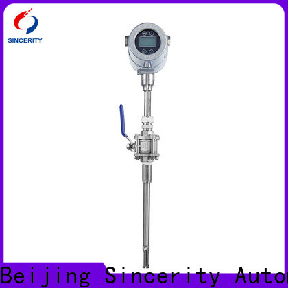 Sincerity digital abb thermal mass flow meter price for gas measurement