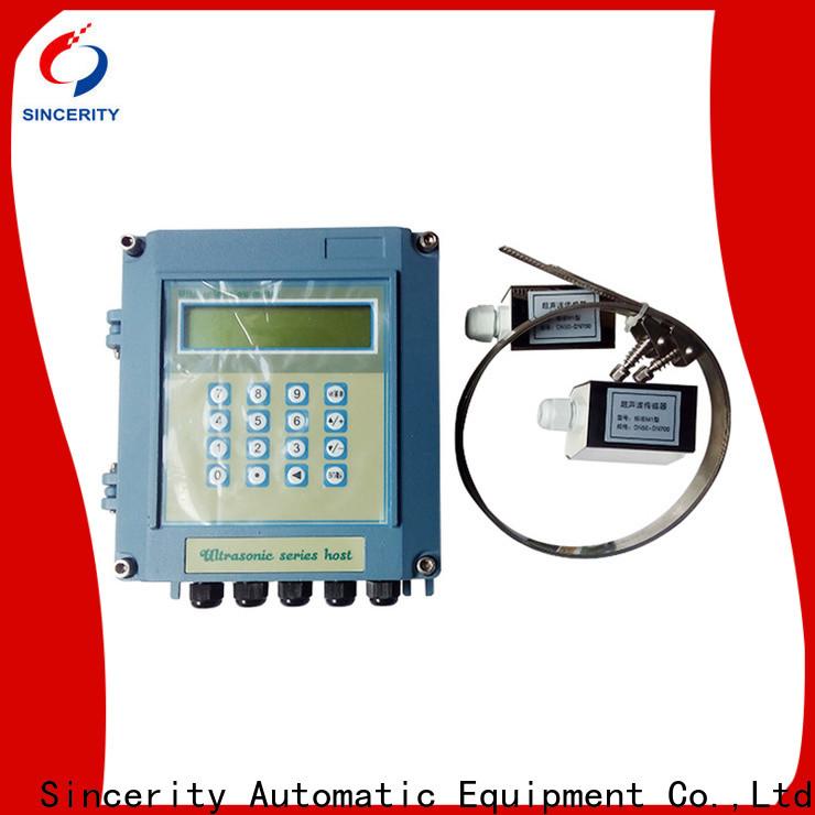 Sincerity high performance ultrasonic gas flow meter price for Metallurgy