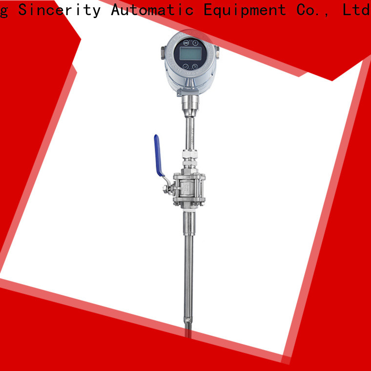 Sincerity best thermal mass flow meter emerson supplier for gas measurement