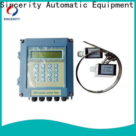 Sincerity ultrasonic gas flow meter price supplier for Energy Saving