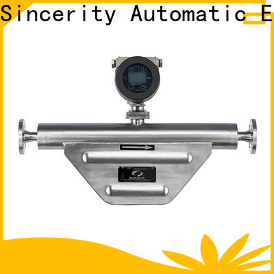 Sincerity micro motion mass flow meter price for chemicals
