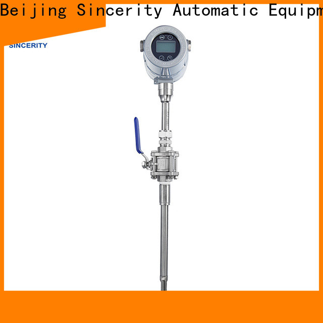 Sincerity thermal mass flow meter emerson supplier for gas measurement