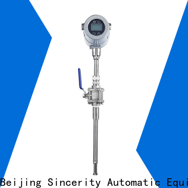 Sincerity High measuring accuracy thermal mass flow meter emerson supplier for gas measurement